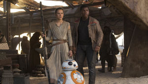 Finn and Rey Star Wars The Force Awakens