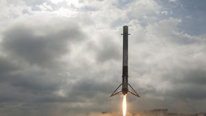 SpaceX Falcon 9 booster landing