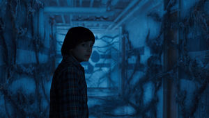 Stranger Things hallway