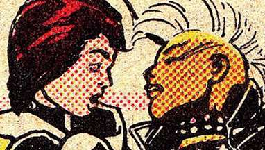 Rogue Storm X-Men queer fanfiction hero 2