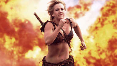 Gabrielle in Xena: Warrior Princess