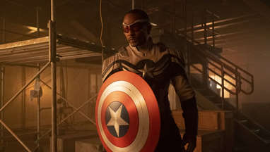 Anthony Mackie Captain America The Falcon and the Winter Soldier