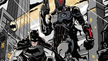 Batman Foundation cover 1