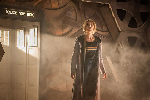 Doctor Who 13th Doctor TARDIS