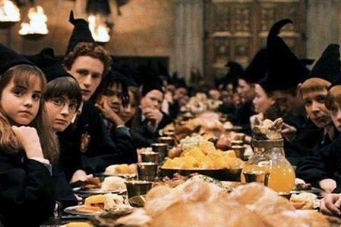Harry Potter dinner scene hero