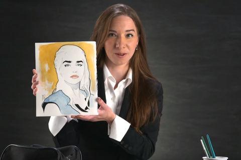 Michelle Delecki Artists Alley