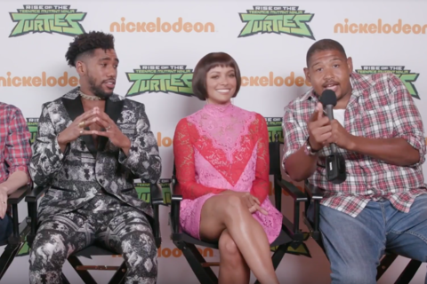 The voice cast of Rise of the Teenage Mutant Ninja Turtles