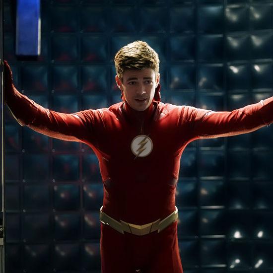 The Flash CW press photo