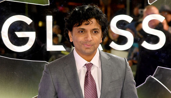 M. Night Shyamalan Glass Premiere