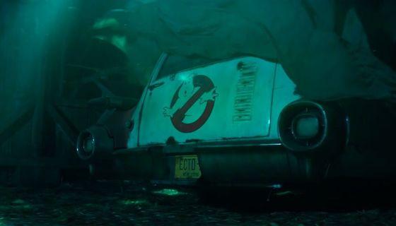 New Ghostbusters movie trailer screengrab