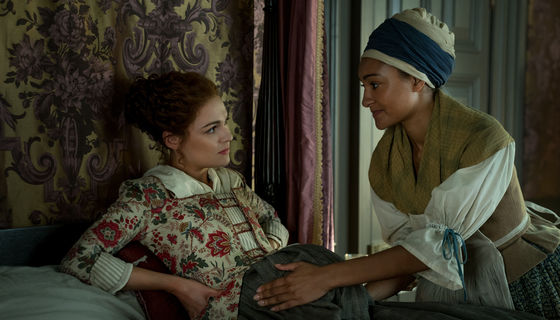 Outlander 413, Brianna and Phaedre