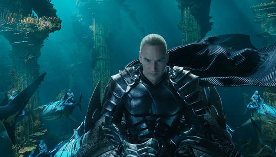 Aquaman King Orm Patrick Wilson
