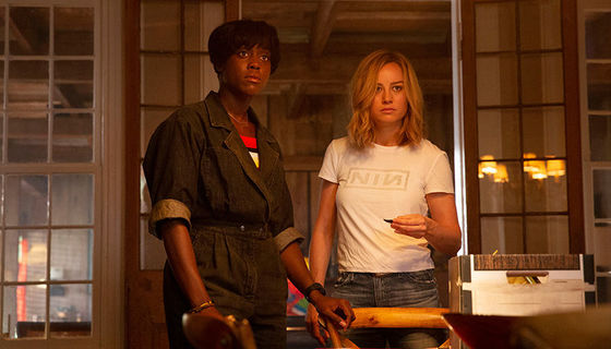 Captain Marvel with Maria Rambeaux