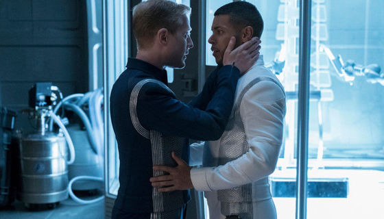 Culber and Stamets in Star Trek: Discovery