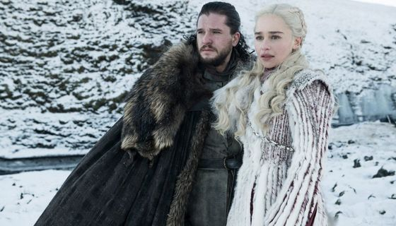 Game of Thrones Season 8 Jon and Daenerys