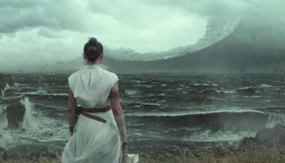 Star Wars: The Rise of Skywalker (Rey looking at wreckage)