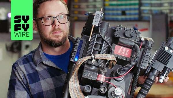 Making A 400 MPH Punching Machine: Erik Beck's Story | Fan Creators | SYFY WIRE
