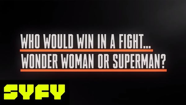 Superman vs. Wonder Woman: Who Would Win? Fans Speak | SYFY 25