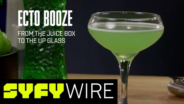 How To Make Ecto Booze for Your Halloween Party | SYFY WIRE