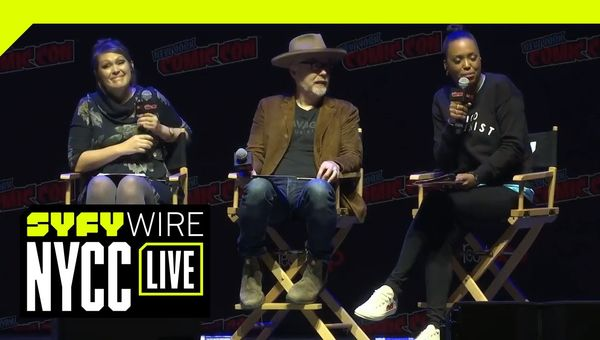 SYFY WIRE Hosts The Great Debate | NYCC 2018 | SYFY WIRE