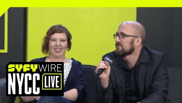 Image Comics' Kieron Gillen & Stephanie Hans Talk RPG Horror Comic 'Die' | NYCC 2018 | SYFY WIRE
