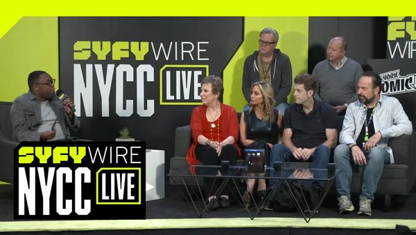 How Batman: The Animated Series Is Retconning The Comics | NYCC 2018 | SYFY WIRE