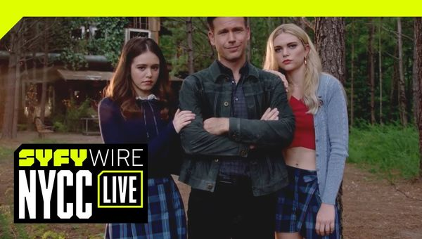 We're Talking Dope Supernatural Powers With The Legacies Cast And Crew | NYCC 2018 | SYFY WIRE