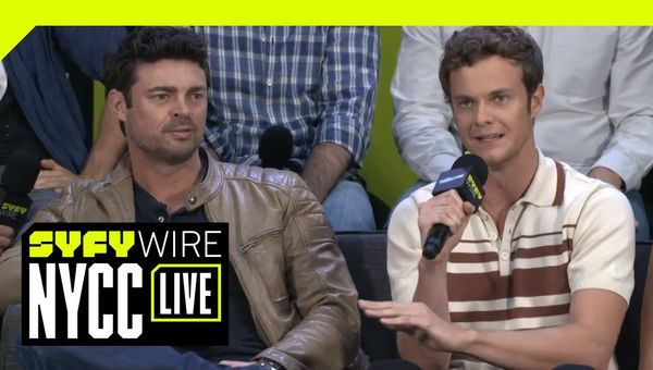 Amazon's The Boys Cast Interview | NYCC 2018 | SYFY WIRE