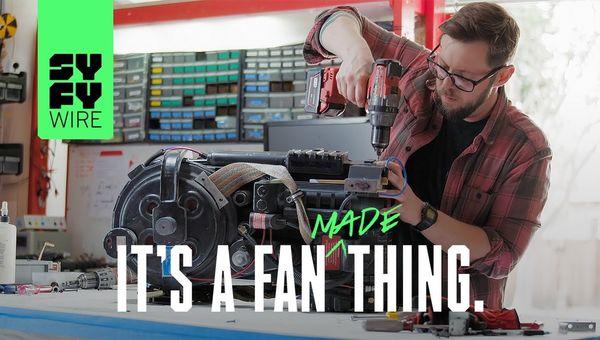 It's A Fan Made Thing | Fan Creators | SYFY WIRE