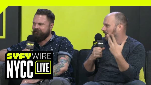 DC's Heroes In Crisis Creators On Nerdom And Murder | NYCC 2018 | SYFY WIRE