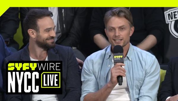 Exclusive: Wilson Bethel Confirms Daredevil Character | NYCC 2018 | SYFY WIRE