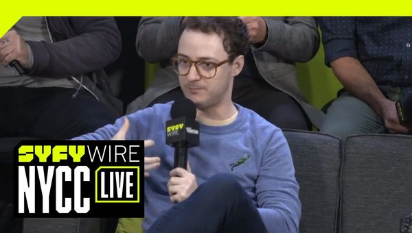 The Tick Cast Talk Hugs, Pasta, And New Characters | NYCC 2018 | SYFY WIRE