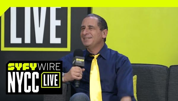 The Simpsons Mike Reiss On Springfield Confidential, Legacy And The Pope? | NYCC 2018 | SYFY WIRE