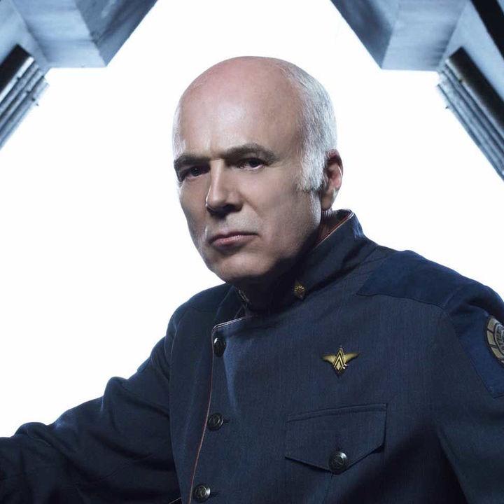 Battlestar Galactica Michael Hogan hero