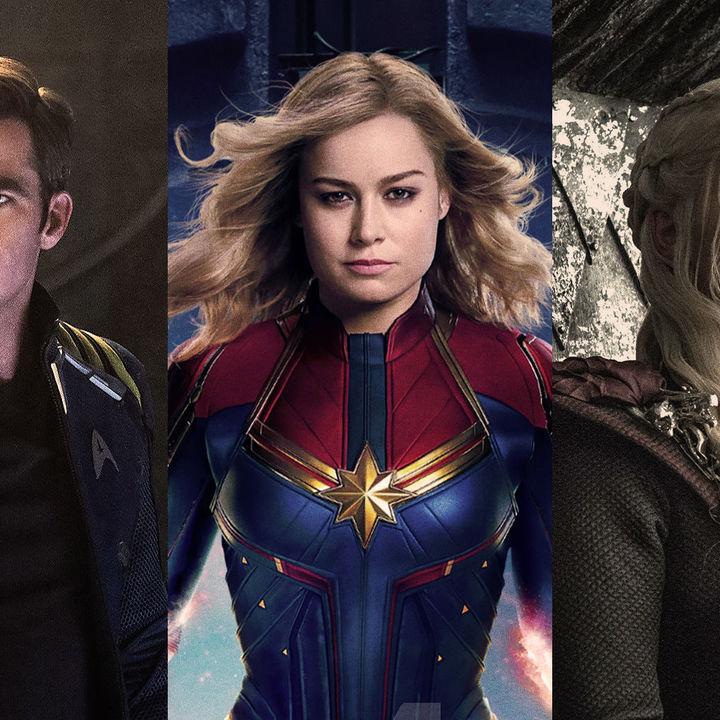 Who Won the Week Captain Marvel, Star Trek & Who Will Win 2019?
