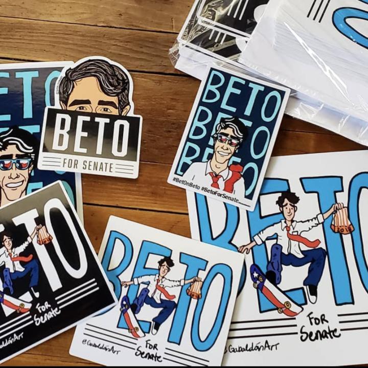 Beto O'Rourke fan art