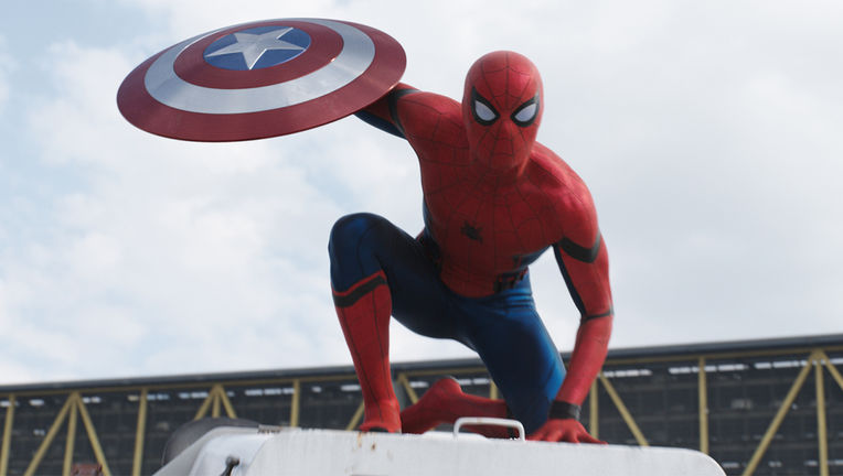 Spider-Man Captain America: Civil War