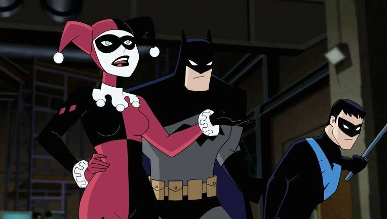 SYFY - Watch: Bruce Timm explains that Harley Quinn and