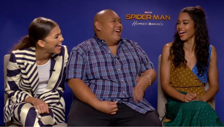 Spider-Man: Homecoming: Zendaya, Jacob Batalan, Laura Harrier