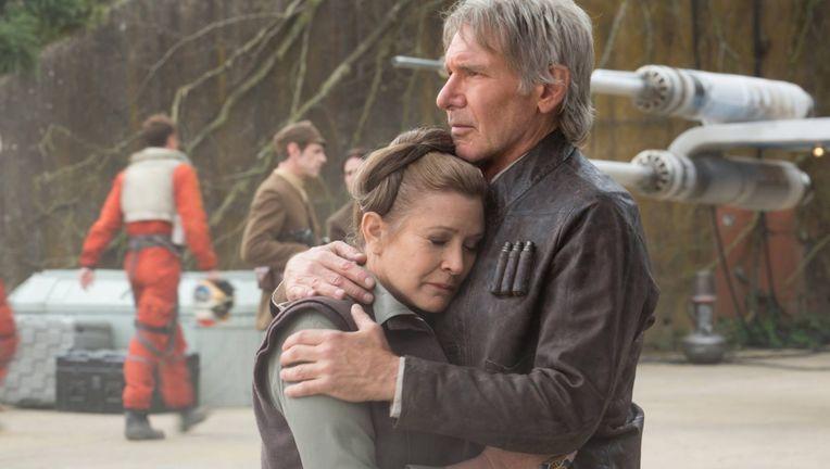 Leia Han Star Wars Force Awakens