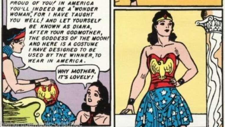 Wonder Woman first appearance