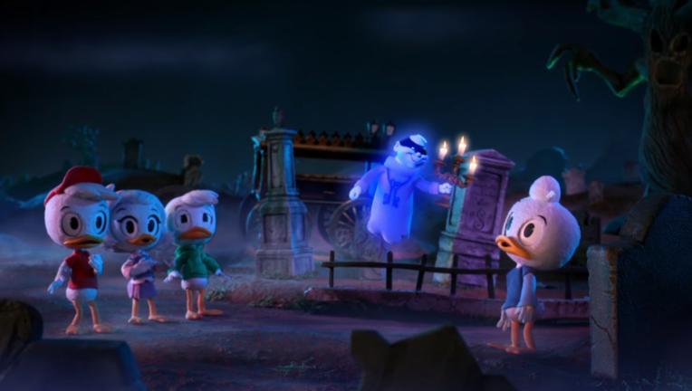 ducktales, haunted mansion
