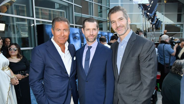 Richard Plepler, D.B. Weiss, David Benioff
