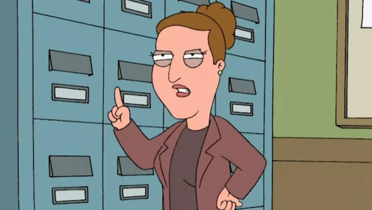 Carrie Fisher, Family Guy
