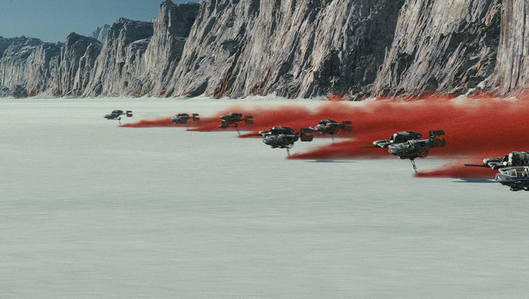 Star Wars: The Last Jedi, Crait