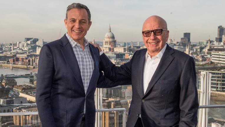 Iger Murdoch Disney Fox