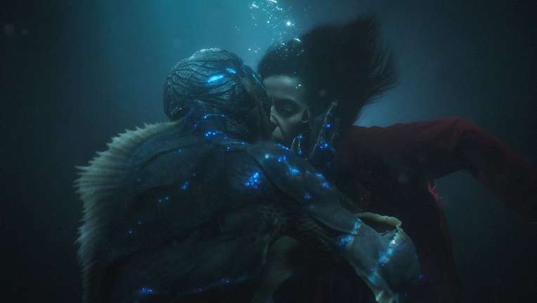 Shape of Water sex scene