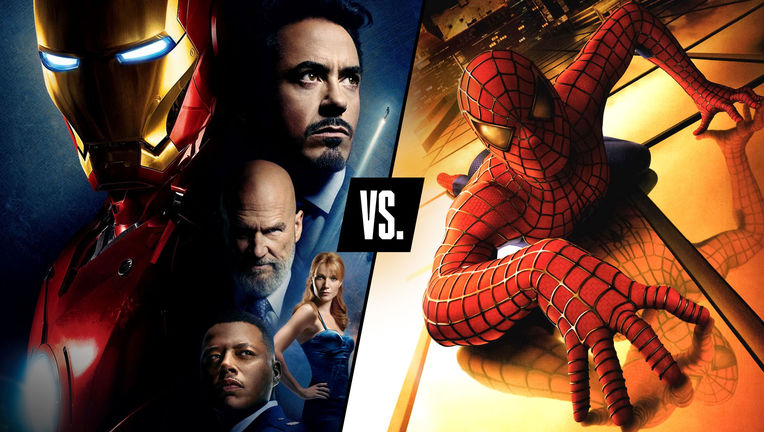 Debate Club Iron Man vs Spider Man