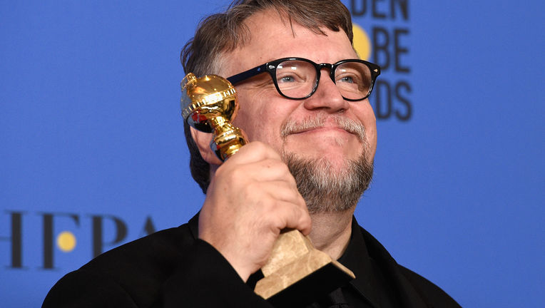 Shape of Water Guillermo del Toro Golden Globes
