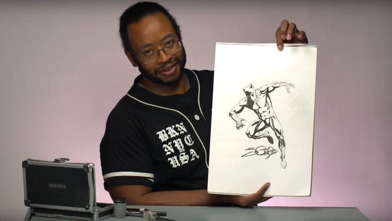 jamal-igle-black-panther-sketch-syfywire-screengrab.png